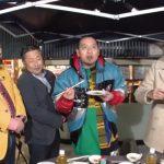 2月12日のGYAO配信の「千鳥のロコスタ」に肉のイイジマが出演しました!!