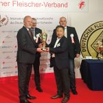 IFFA2019 授賞式において、ハム部門2位の快挙