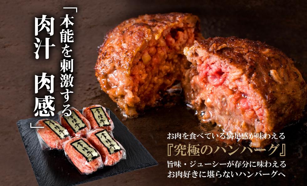 【お取り寄せ・通販人気NO1】常陸牛100%ハンバーグ【無添加】